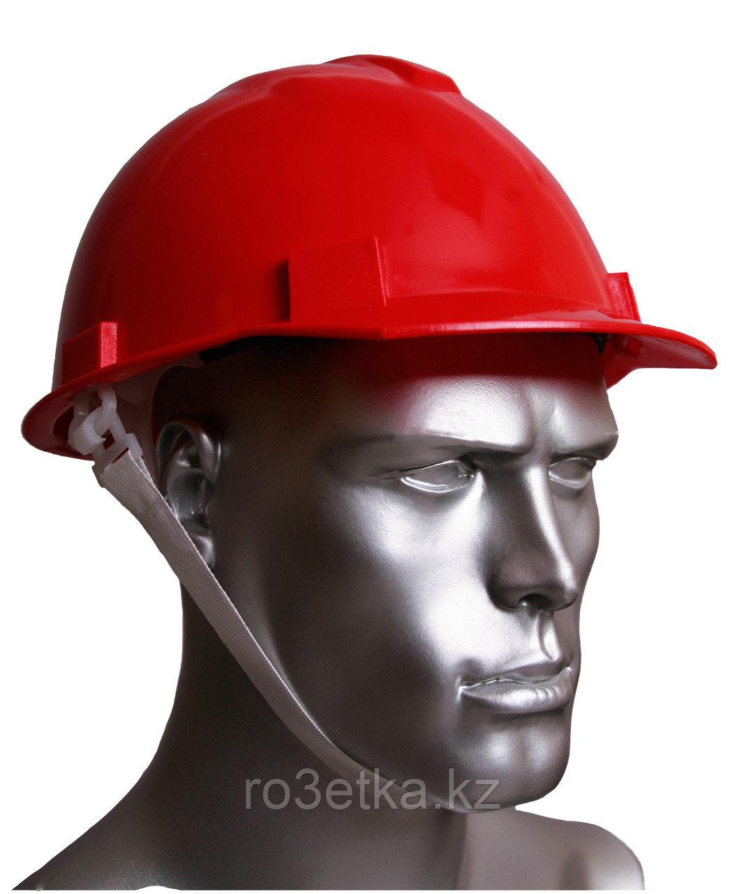 Каска защитная К1 (Буревестник) красная