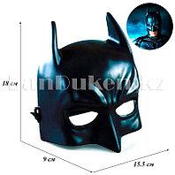 Маска на пол лица Бэтмен (высокопрочный пластик)
