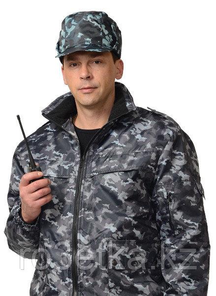 Кепи охранника утеплённое КМФ серое