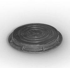 Люк канализационный, полимерный, легкий, фото 2