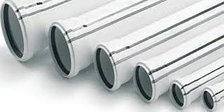 Труба (канализационная) ПВХ SANTEC 75/500 (3.2) L 500 мм, фото 2