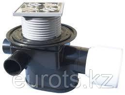 Трап с обратным клапаном и 3-мя дополнительными входами (нормально заглушены) HL70