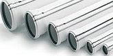 Труба (канализационная) ПВХ SANTEC 100/1000 (2.2) L 1000 мм, фото 3
