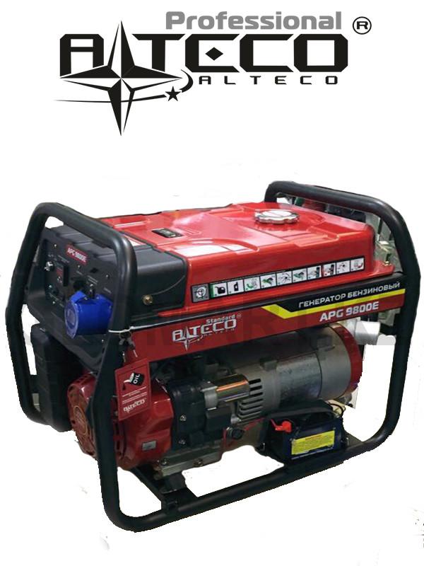 Бензиновый генератор Alteco APG-9800E (N) (Алтеко)