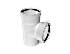 Тройник ПВХ канализационный (90°) 3.2 mm