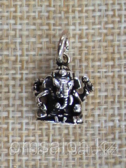 Амулет из серебра  Ганеша
