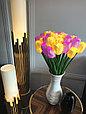 Светодиодные уличные Тюльпаны(20 цветов), желтые, розовые, красные, фото 6