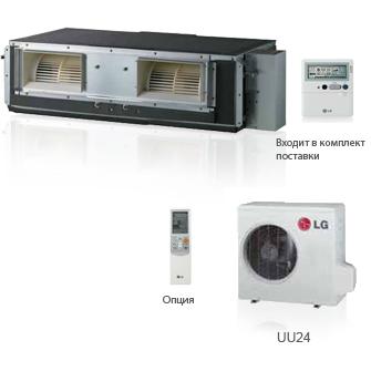 Кондиционер LG UB30 канальный тип, фото 2