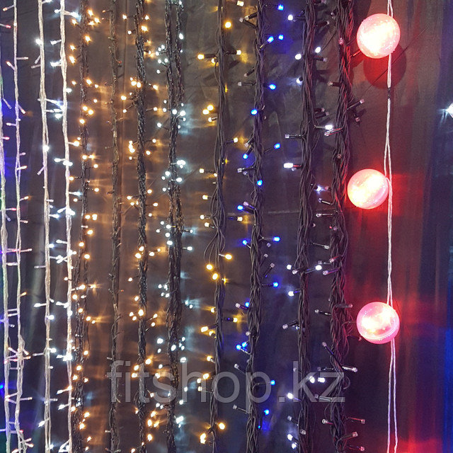 Гирлянды светодидные от 5 метров