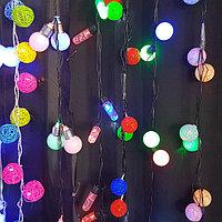 Гирлянды светодидные  шары и свечи