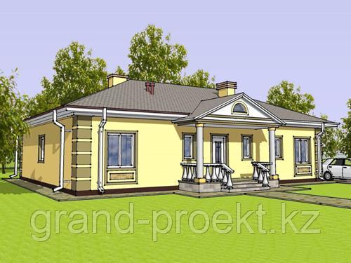 Проекты одноэтажных домов.