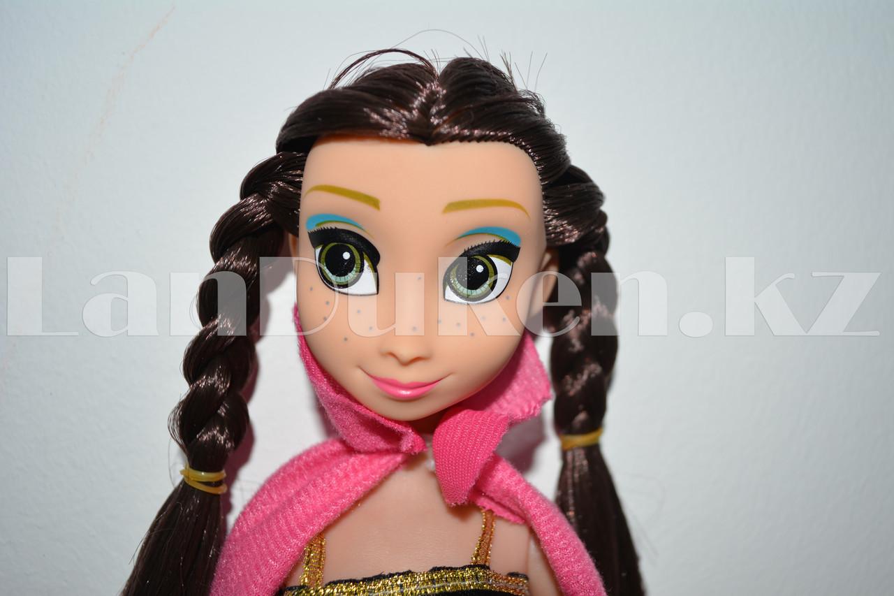 Детская музыкальная кукла Анна Холодное сердце (Frozen) 35 см - фото 2