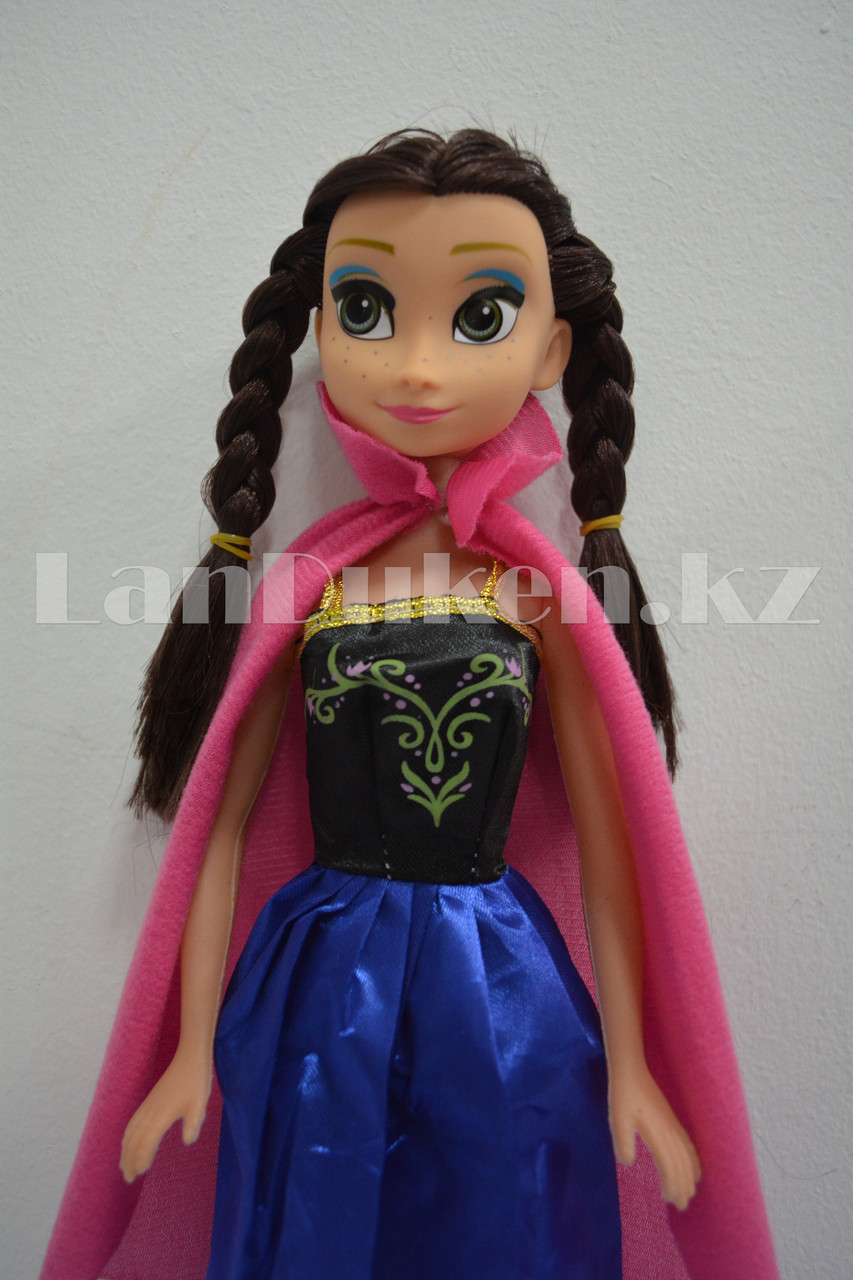 Детская музыкальная кукла Анна Холодное сердце (Frozen) 35 см - фото 6