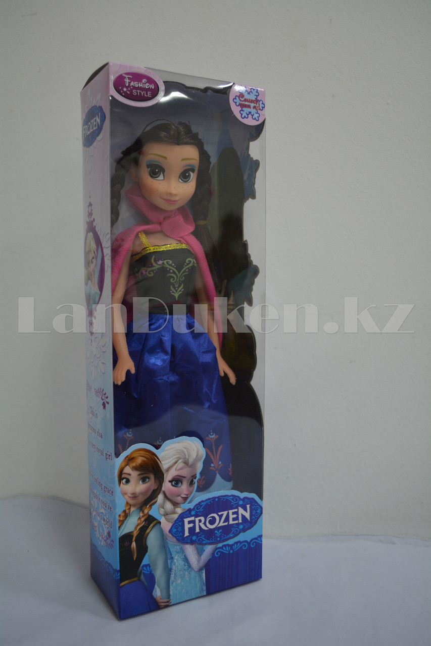 Детская музыкальная кукла Анна Холодное сердце (Frozen) 35 см - фото 5