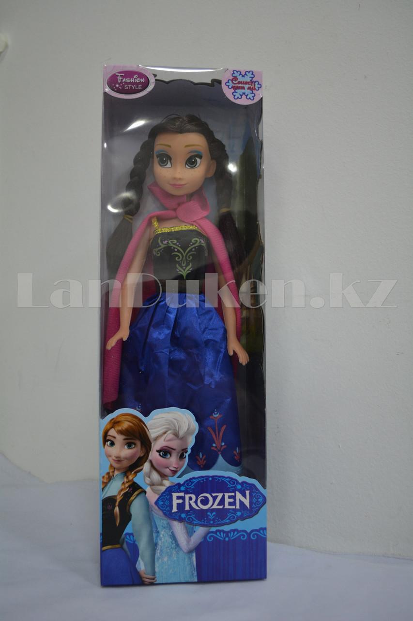 Детская музыкальная кукла Анна Холодное сердце (Frozen) 35 см - фото 8
