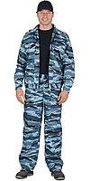 """Костюм """"ВЫМПЕЛ"""": куртка, брюки (тк. смесовая) КМФ серый вихрь, фото 1"""