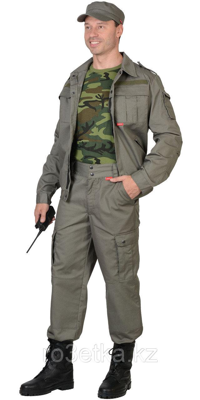 """Костюм """"ТАЙФУН"""": куртка, брюки Тк. Rodos (245 гр/кв.м) олива"""