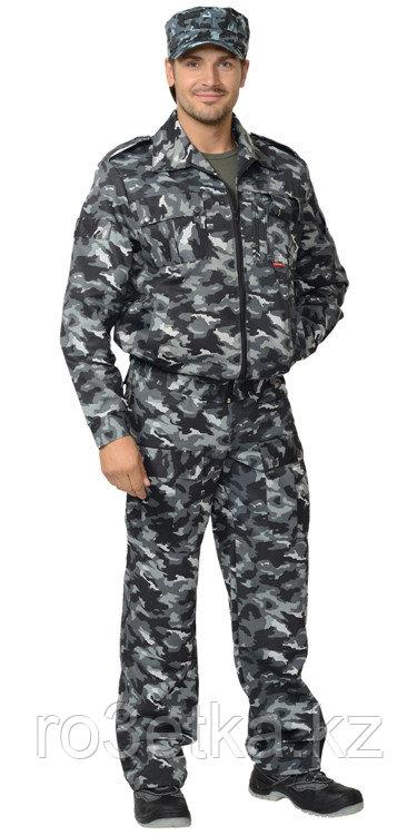 """Спецодежда зимняя Костюм """"ФРЕГАТ"""" для охранника: куртка, брюки КМФ серый"""