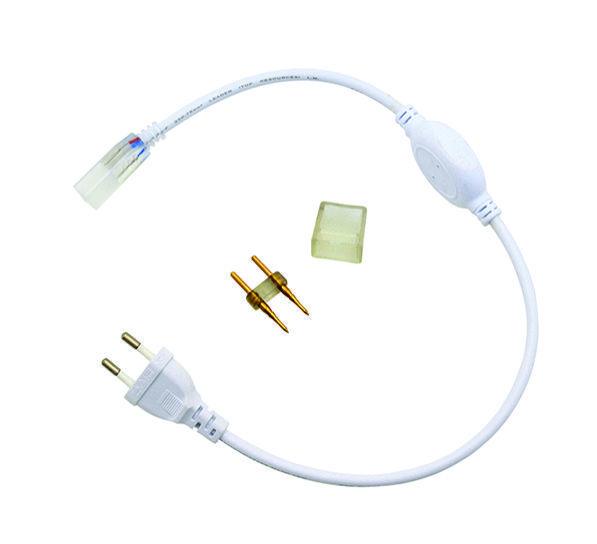Коннектор (концевик) для подсоединения дюралайта к сети (5050/3014)