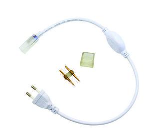 Коннектор (концевик) для подсоединения дюралайта к сети (2835)