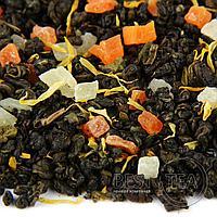 Чай Ягодный микс (зеленый ароматизированный) 0,5 кг