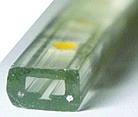 Светодиодная лента (плоский дюралайт) 220v 5050 (желтый) бухта - 100м., фото 3