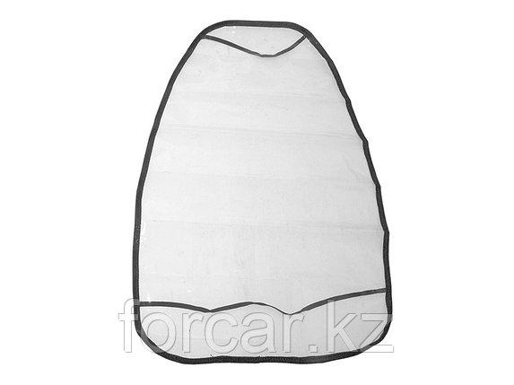 Накидка защитная на спинку переднего сидения 61х46 см, прозрачная, фото 2