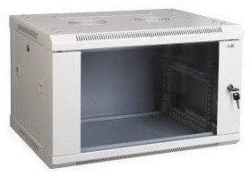 ITK Шкаф LINEA W 6U 600x450 мм дверь металл, RAL9005, фото 2