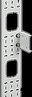 ITK Вертикальный кабельный органайзер 42U, 75x12мм, черный