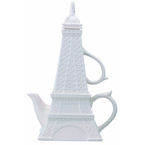 Чайник заварочный Эйфелева башня с кружкой