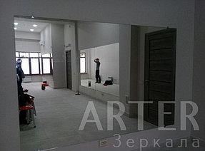 Установка зеркал в танцевальный зал, г.Алматы 2