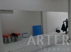 Установка зеркал в танцевальный зал, г.Алматы 3