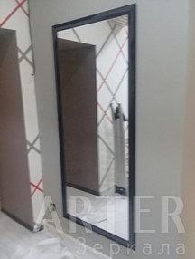 Изготовление и установка зеркала в багетной рамке, г.Алматы 2