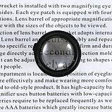 9892GJ-3A Лупа-очки налобная бинокулярная 10x/15x/20x/25x (очки), с подсветкой (2 LED), фото 8