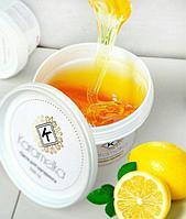 Сахарная паста для депиляции волос 300 гр. мягкая Karamelka (для шугаринга)