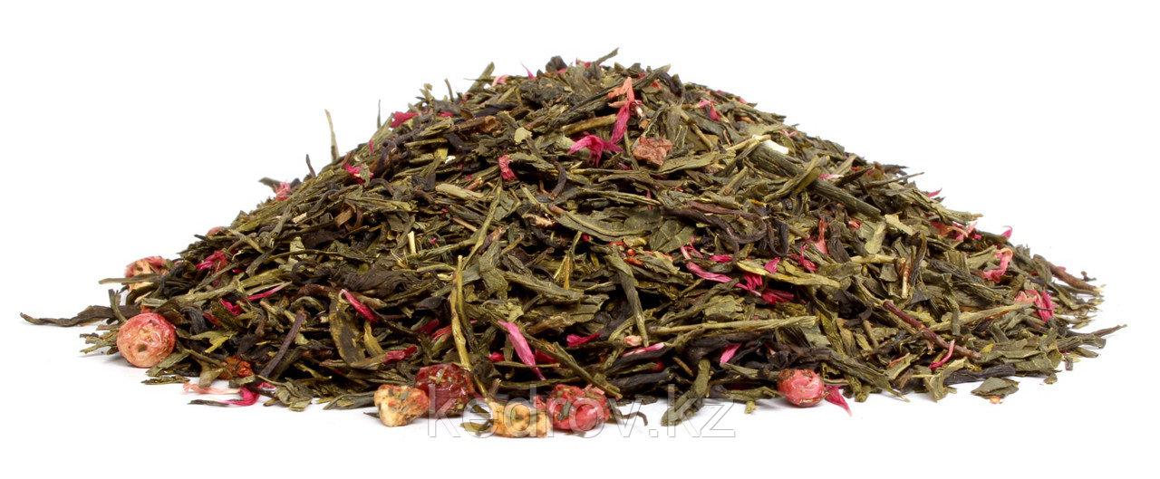 Чай Японская Сакура (зеленый ароматизированный) 0,5 кг