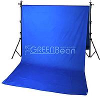 GreenBean Фон хромакей Field 3.0 х 7.0 Blue, фото 1