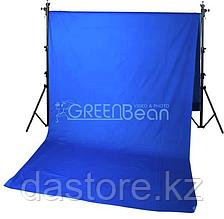 GreenBean Фон хромакей Field 3.0 х 7.0 Blue