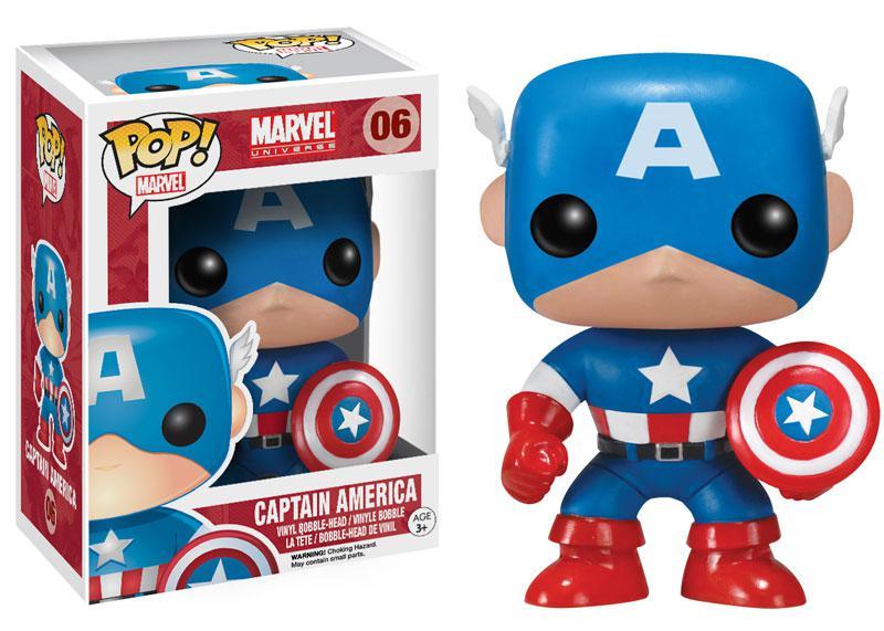 "POP! Marvel ""Marvel Universe"" Виниловая Капитан Америка"