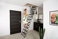 Металлическая лестница OptiStep Fakro (70х80х280 см)Польша , фото 1