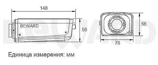 IP видеокамера B1720, фото 3