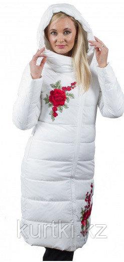 Женская куртка пуховик Белая
