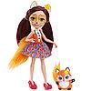 Mattel Enchantimals Игровая Кукла Лисичка Фелисити, 15 см
