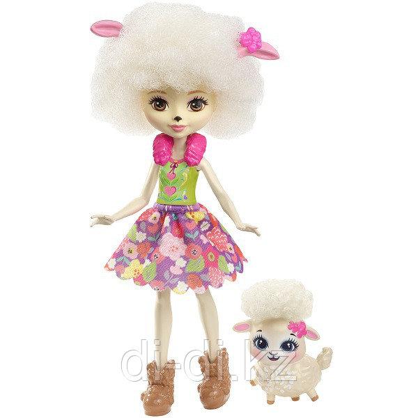 Mattel Enchantimals Игровая Кукла Лорна Барашка, 15 см