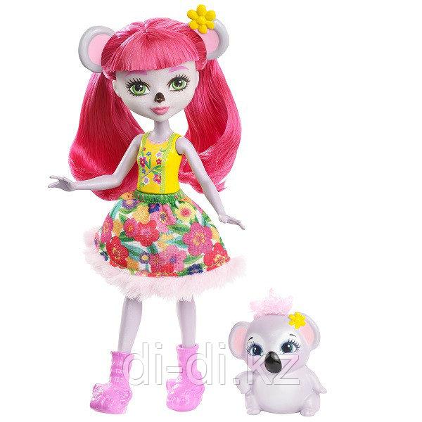 Mattel Enchantimals Игровая Кукла Карина Коала, 15 см