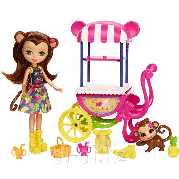 """Mattel Enchantimals Игровой набор """"Фруктовая корзинка"""""""