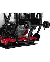 """Виброплита ЗУБР """"ПРОФЕССИОНАЛ"""" прямого хода для асфальта, бензин, 15кН, плита 530*500мм, двигатель Honda GX160, фото 2"""