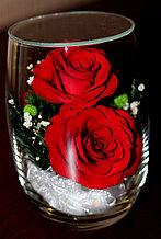 Живые цветы в стекле RmiR