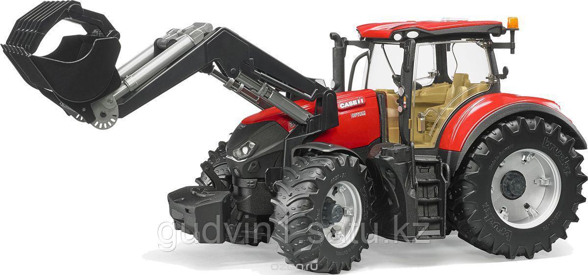 Bruder Трактор Case IH Optum 300 CVX с погрузчиком 03-191