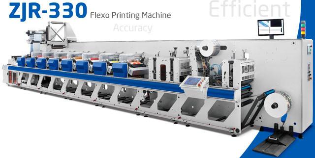 WeiGang ZJR-330 - 10-красочная флексографская печатная машина